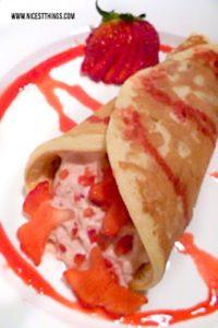 Erdbeer Pfannkuchen Rezept #pancakes #erdbeeren #erdbeerrezepte #pfannkuchen