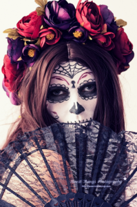 Dia De Los Muertos Makeup / Sugar Skull Makeup &#0...