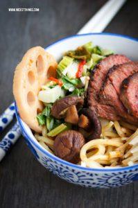 Ramen Rezept Rind Pilze Ramensuppe japanische Nudelsuppe #ramen #ramenbowl #ramensuppe #nudelsuppe #asiatischerezepte #soba