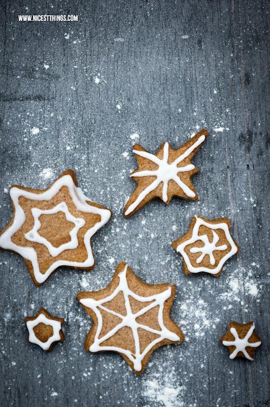Lebkuchen Rezept einfach schnell Lebkuchen Sterne Plätzchen backen #lebkuchen #pfefferkuchen #printen #plätzchen #gingerbread #paindepices #weihnachten