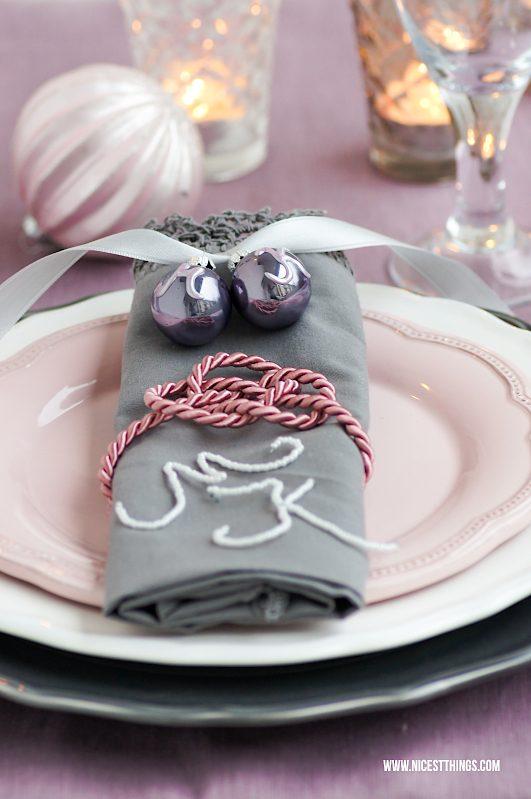 Weihnachtstischdeko Ideen DIY Tischdeko Weihnachten #tischdeko #weihnachten #weihnachtstischdeko #diyweihnachten
