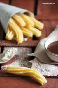 Churros Original Rezept Churros Con Chocolate #churros