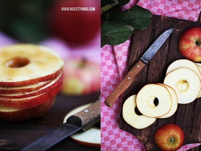 Apfel Karamell Mille Feuille Rezept