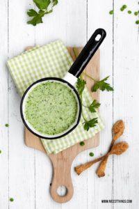 Erbsensuppe Rezept mit Kartoffeln #suppe #suppenrezepte #erbsensuppe