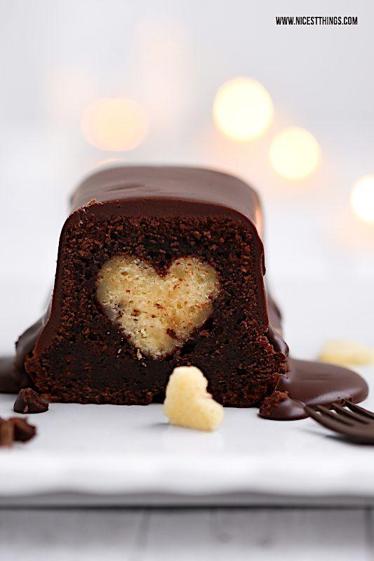 Kuchen mit Herz Motivkuchen Herzkuchen Rezept #herzkuchen #motivkuchen #kuchen #chai #schokolade #valentinstag