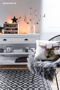 Skandinavische Weihnachtsdeko Ideen #weihnachtsdeko #skandinavisch #hygge #weihnachten
