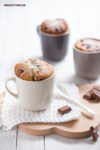 Tassenkuchen Rezept Schoko und Chai Mug Cake mit S...