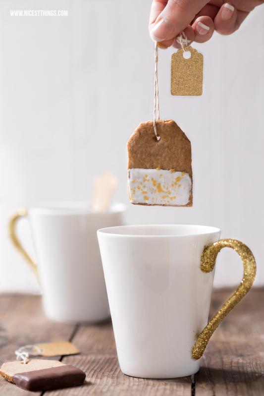 Teebeutel Kekse Teabag Cookies Rezept #teebeutel #kekse #teebeutelkekse #plätzchen #foodblogger #rezepte #cookies #tee #geschenkideen