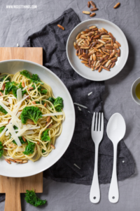 Grünkohl Pasta Kale Spaghetti Rezept #gruenkohl #pasta #kale #spaghetti