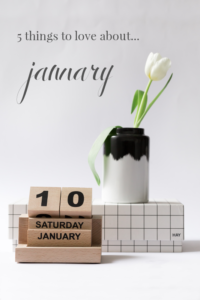 Things to love about January Reasons to love january #january #motivation