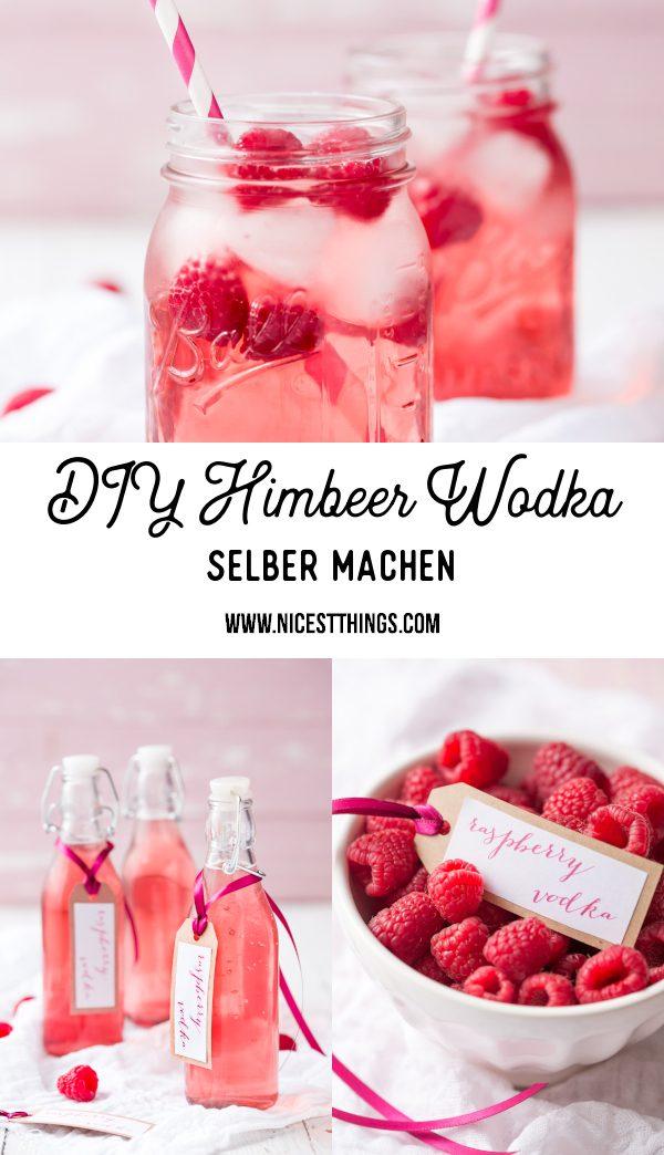 Himbeer Wodka Rezept Himbeerwodka selber machen #himbeerwodka #himbeeren #wodka #cocktails #valentinstag #geschenkideen #geschenkeausderküche