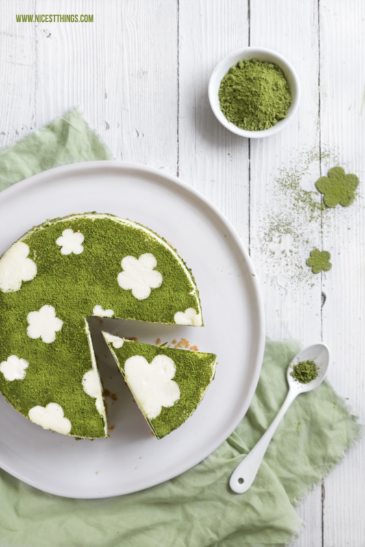 Matcha Cheesecake Rezept Ohne Backen Mit Limette Nicest Things