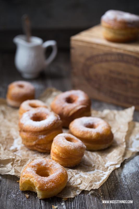 Cronuts Rezept Cronut selber machen Blätterteig #cronut #cronuts #donuts