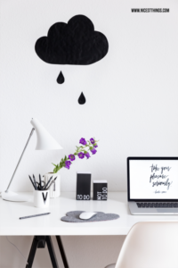 Schreibtisch Home Office Arbeitsplatz Blogger #homeoffice #arbeitsplatz #büro #schreibtisch #organisieren #blogger #ordnung