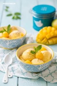 Mango Mousse Rezept Mango Dessert #mango #mousse #rezept #dessert #mangodessert #nachtisch