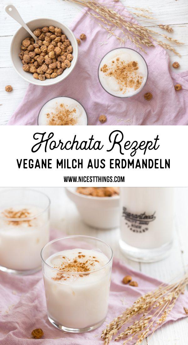 Horchata Rezept Erdmandelmilch Erdmandeln Chufas #horchata #horchatadechufa #horchatarezept #veganemilch #chufas #erdmandeln #erdmandelmilch