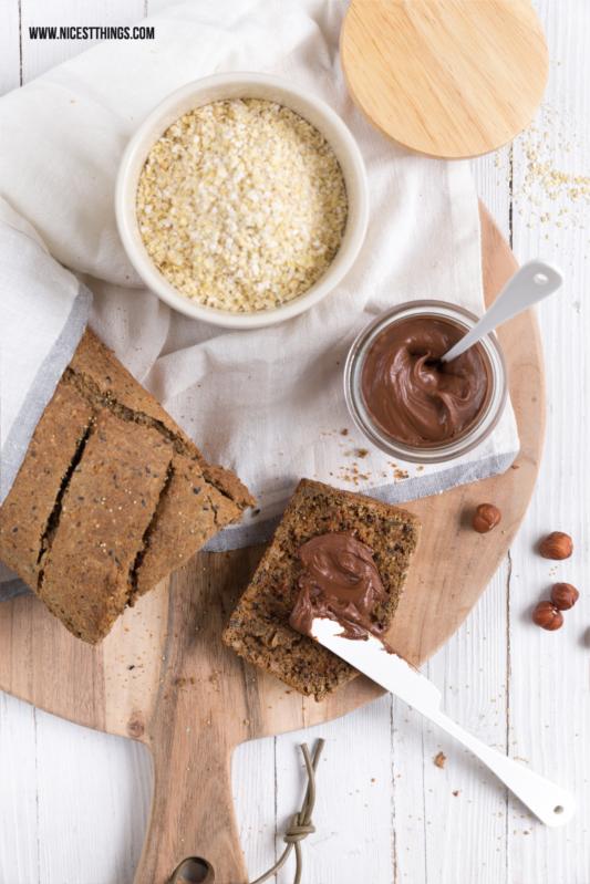 3-Minuten-Brot gesundes Brot Körnerbrot selber backen Rezept