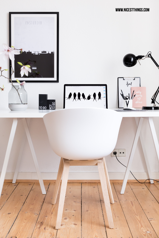 home office einrichten nordic working space hay about a chair