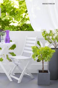 Kleinen balkon bepflanzen Pflanzkübel