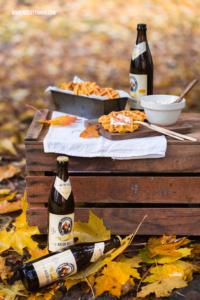 Herzhafte Kürbiswaffeln Rezept zum Herbstpicknick
