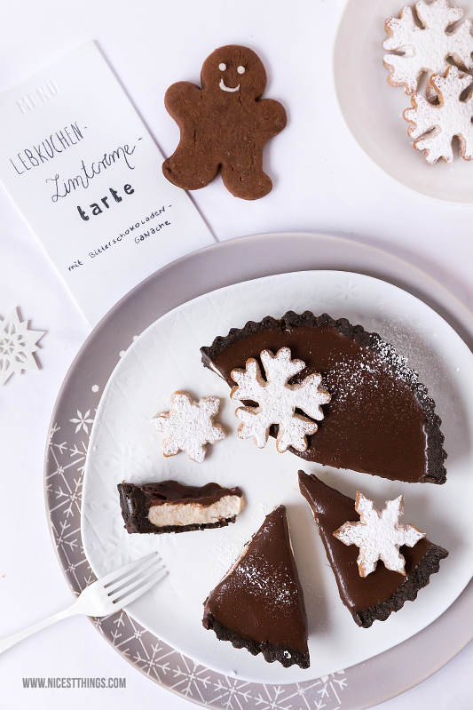 Lebkuchen Cheesecake Lebkuchen Tarte Rezept Weihnachts Tischdeko