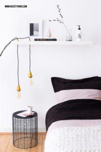 Retro Lampe selber machen: DIY Hängeleuchte mit O...