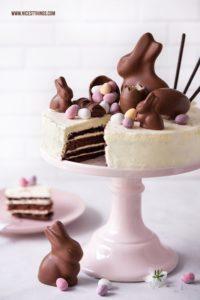 Ostertorte dekorieren Sweets Cake Torte mit Osterhasen
