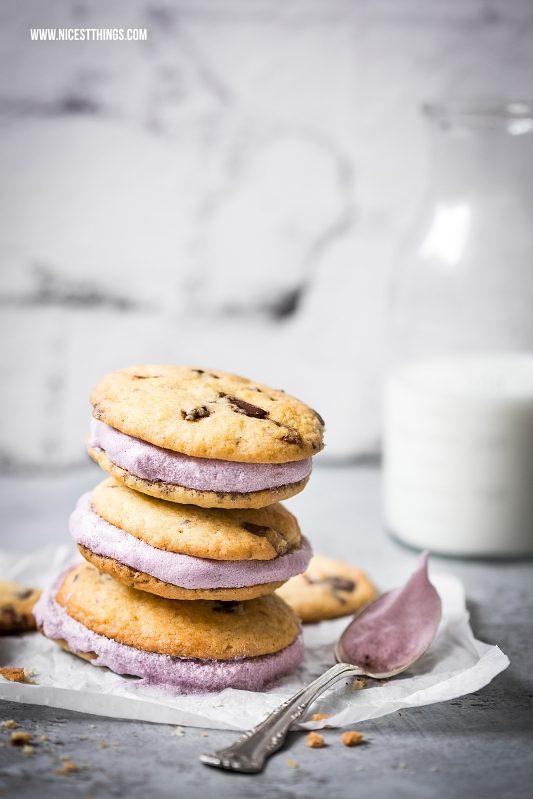 Die besten Chocolate Chip Cookies als Ice Cream Sandwiches