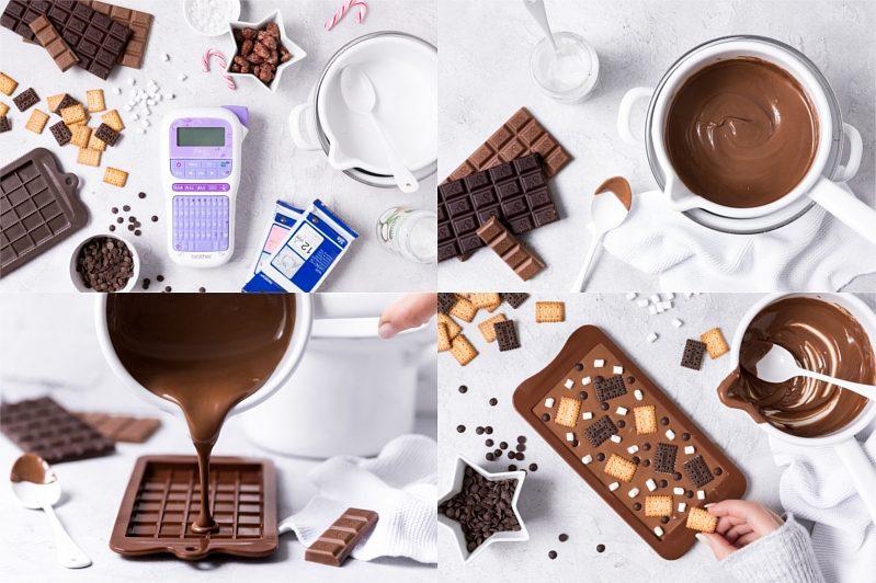 DIY Schokoladentafeln Schokolade selber machen