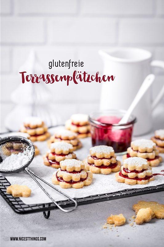 Glutenfreie Plätzchen Weihnachtsplätzchen Terrassenplätzchen