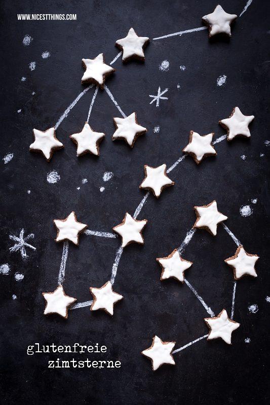 Glutenfreie Zimtsterne Plätzchen Weihnachten Rezept