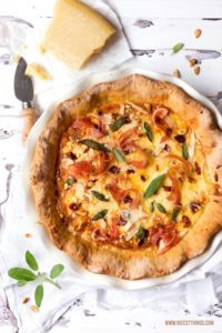 Quiche Rezept mit Grana Padano & Prosciutto di San Daniele