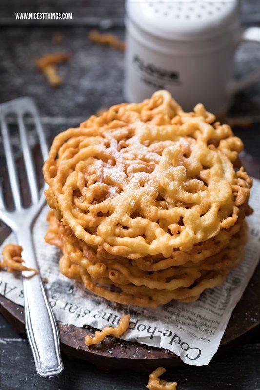 Strauben selber backen Rezept Funnel Cake