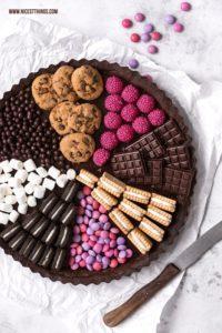 Candy Tarte / Sweets Cake: Rezept für eine Süßi...