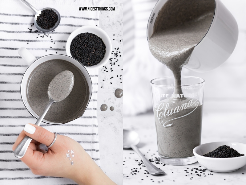 Grey Smoothie Black Vegan Protein Shake Recipe