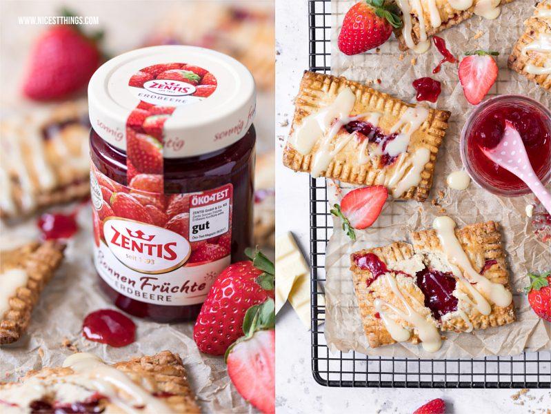 Zentis Sonnen Früchte Erdbeere Blog Rezept Pop Tarts
