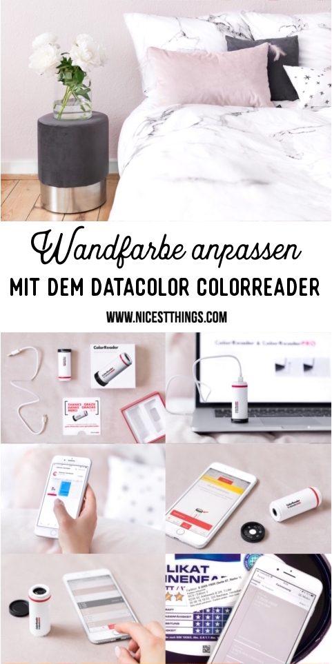 (Werbung) Wandfarbe perfekt abstimmen mit dem Datacolor ColorReader