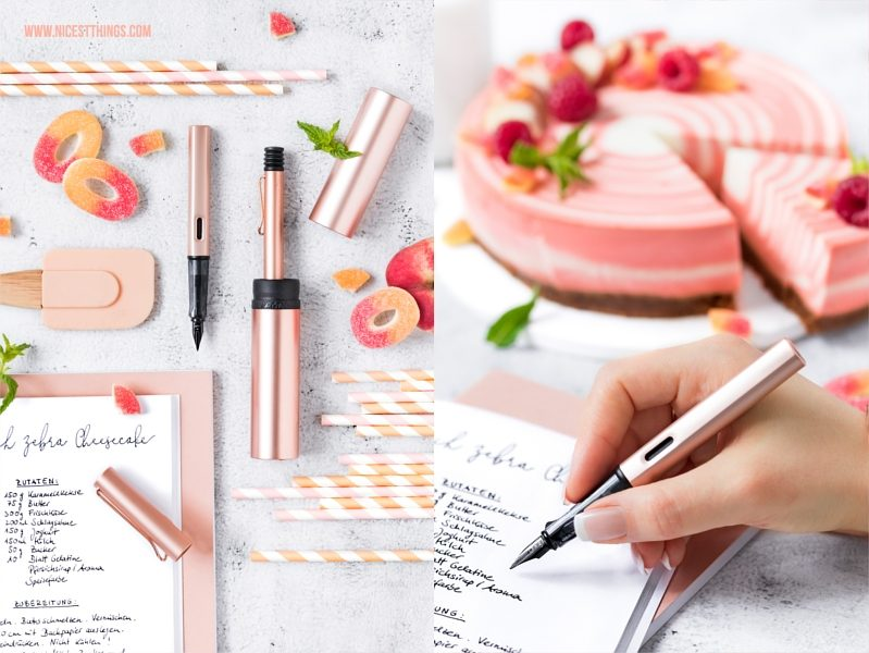 Lamy Lx Rosegold Füller und Kugelschreiber