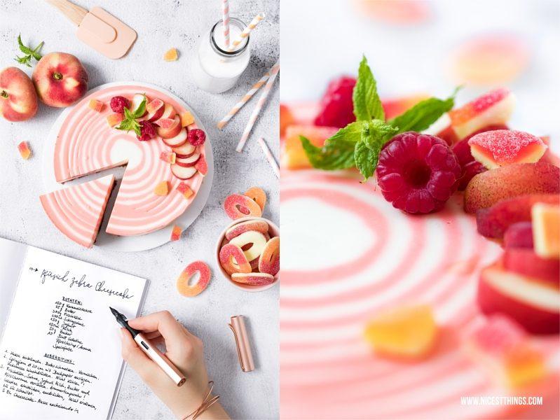Lamy Füller Rosegold Zebrakuchen Rezept