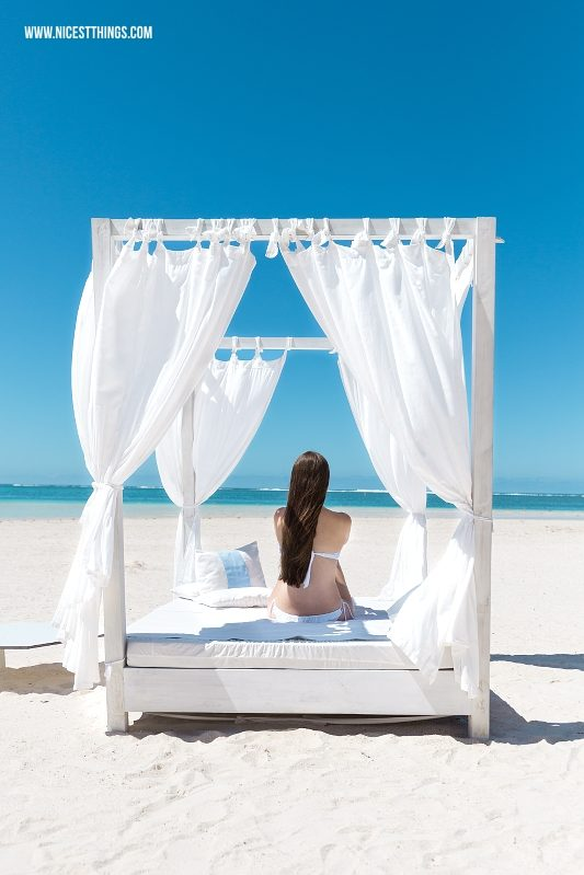 Beach Bed Mauritius LUX Belle Mare