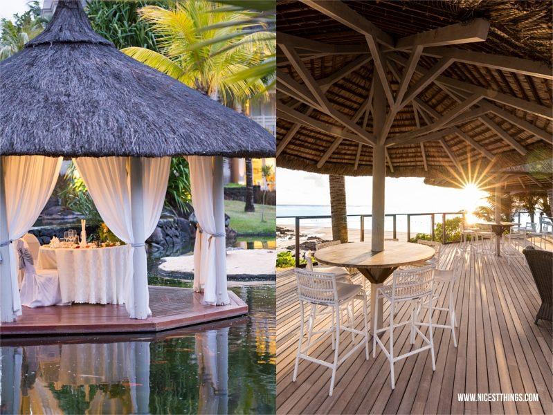 LUX Belle Mare Mauritius Gazebo