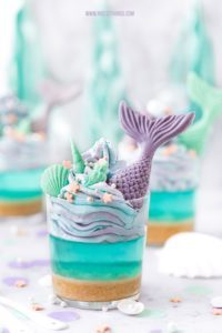 Meerjungfrau Dessert Meerjungfrauen Party Mermaid