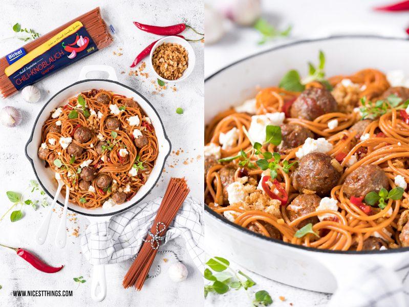 Birkel Chili Knoblauch Spaghetti Nudel Inspiration