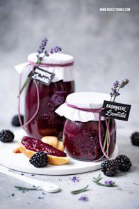 Brombeer Lavendel Marmelade: Konfitüre mit Brombe...