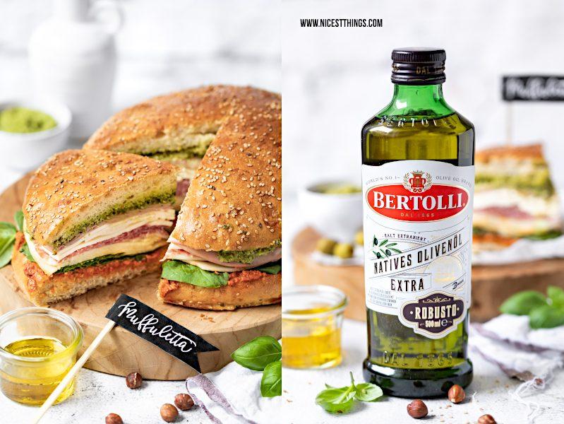 Bertolli Olivenöl neue Flasche Lucca