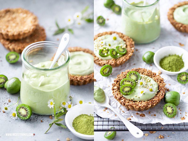 Mini Kiwi Rezept Kiwi Tartelettes Kiwibeeren Matcha