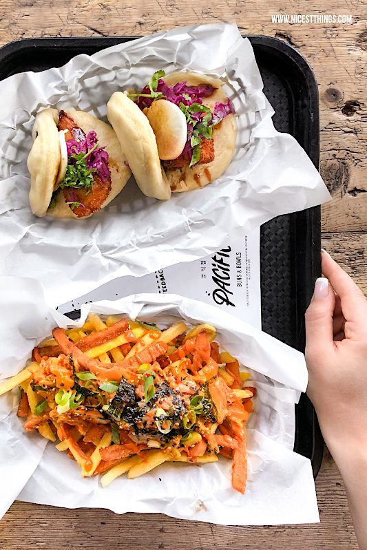 Pacifico Berlin Bao Buns Süßkartoffel Pommes #streetfood #streetfries #kimchi Fries #pacifico #berlin #baobuns #süßkartoffel #fries #koreanfood #seoul