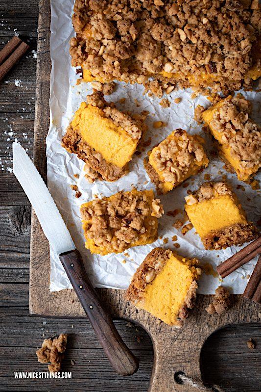 Kürbis Cheesecake Pumpkin Spice Streusel Käsekuchen Rezept #pumpkin #pumpkinspice #kürbis #cheesecake #kürbisrezepte #herbstrezepte