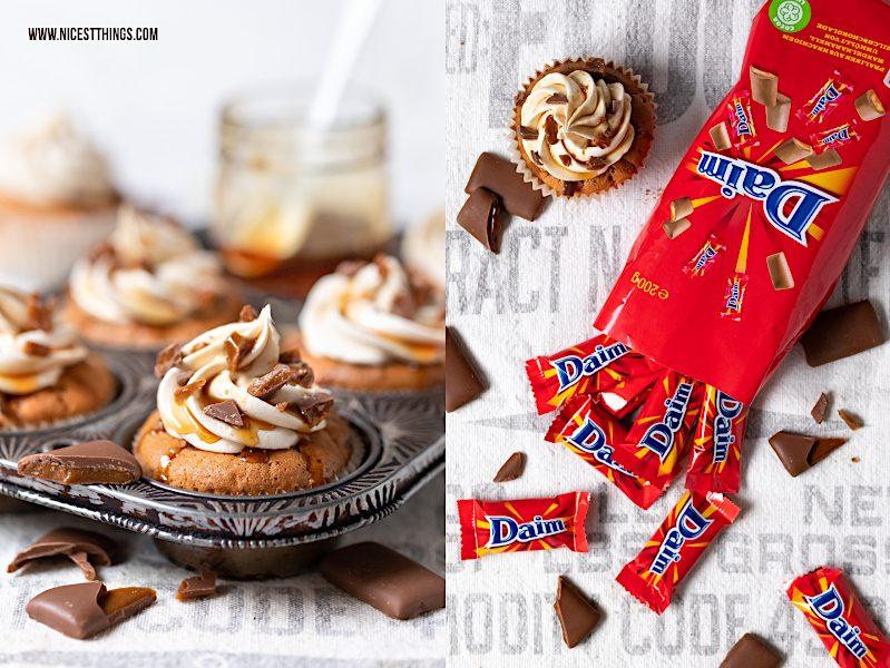 Daim Rezept Daim Cupcakes Karamell