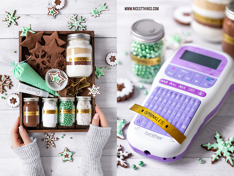 Brother P-touch DIY Weihnachtsgeschenk Cookie Decorating Kit